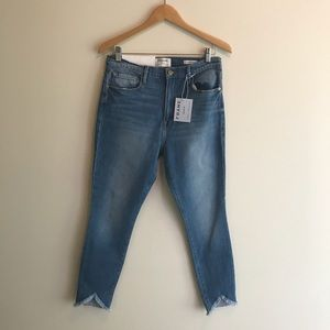 Frame Denim. Ali High Rise Cigarette. NWT.